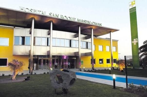 FERNANDO OJEDA C100306 INAUGURACION DEL HOSPITAL SAN ROQUE EN MASPALOMAS.